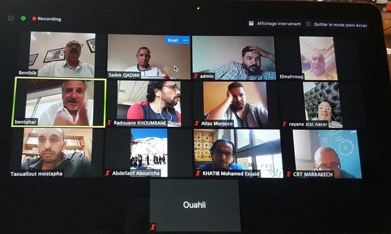 فتح نقاش بين مهنيي السياحة خلال لقاء تفاعلي عن بعد حول قطاع الإرشاد السياحي بجهة مراكش آسفي