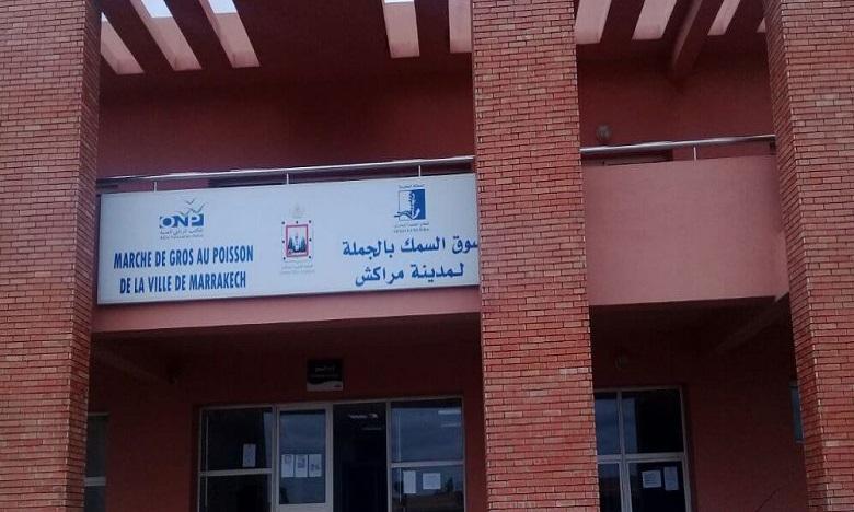 ولاية جهة مراكش تغلق سوق بيع السمك بالجملة بسبب خرق تدابير السلامة الصحية