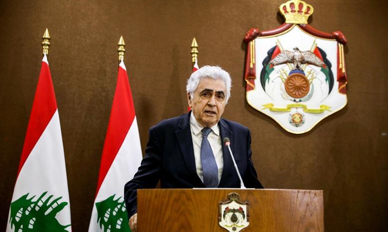 وزير الخارجية اللبناني ناصيف حتي يقدم استقالته من الحكومة