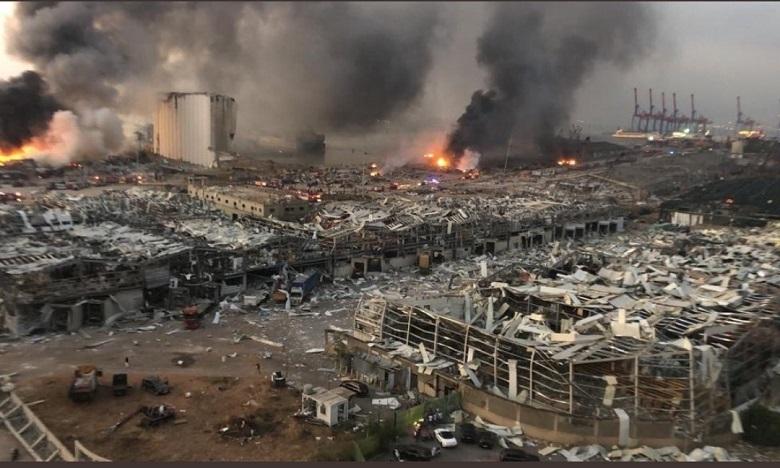 سفارة المغرب بلبنان: إصابة مواطنة مغربية في انفجار مرفأ بيروت