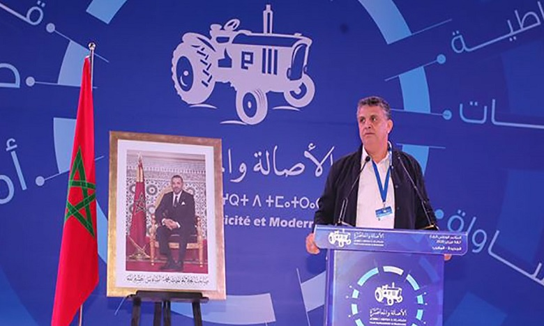 عبد اللطيف وهبي يدعو إلى الانخراط في تعزيز جهود التنمية التي رسم معالمها الكبرى جلالة الملك في خطاب العرش