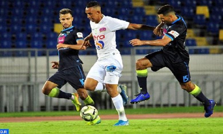 البطولة الوطنية الاحترافية: فريق الرجاء البيضاوي يتفوق على فريق يوسفية برشيد
