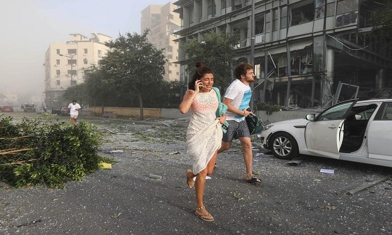 انفجار بيروت: السفارة المغربية بلبنان تتابع أوضاع الجالية