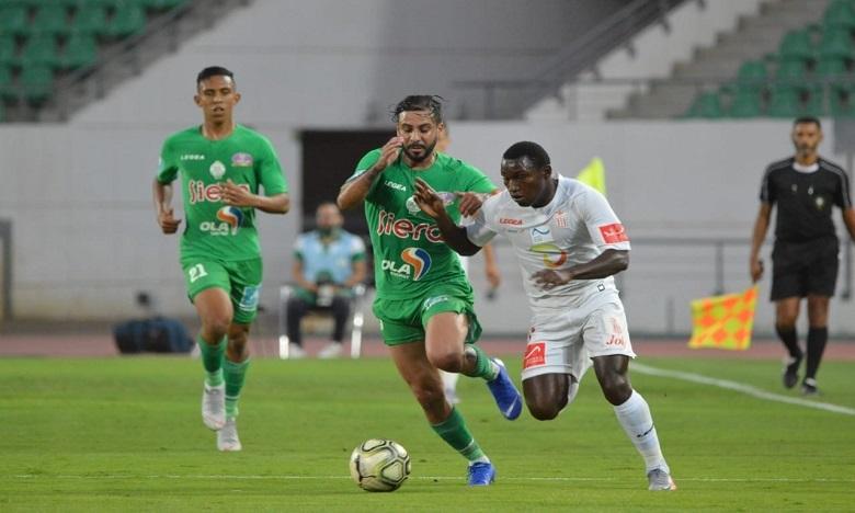 الرجاء البيضاوي يفوز على مضيفه حسنية أكادير وينتزع الصدارة من جديد