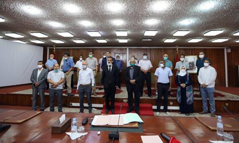 انتخاب مولاي احمد تيجاني نصيري رئيسا لمجلس مجموعة الجماعات الترابية الأطلس