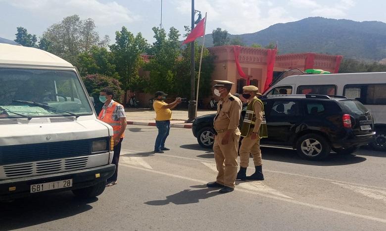 إغلاق منتجعات إقليم الحوز في وجه الزوار بسبب تفشي فيروس كورونا (صور)
