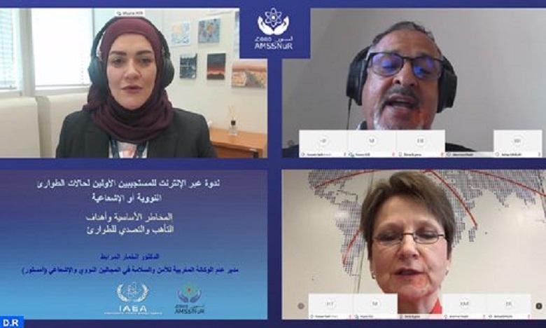 المغرب يترأس أول ندوة عبر الأنترنيت للمستجيبين الأولين لحالات الطوارئ النووية أو الإشعاعية باللغة العربية