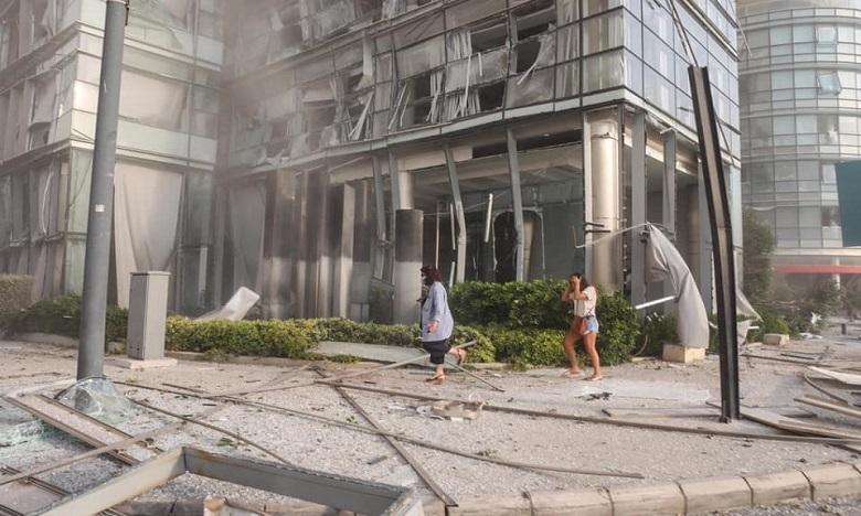 انفجار  بيروت: 135 قتيلا ونحو 5 آلاف جريح في حصيلة جديدة للضحايا
