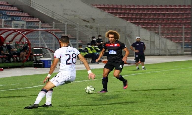 فريق أولمبيك آسفي يتعادل مع ضيفه فريق المغرب التطواني