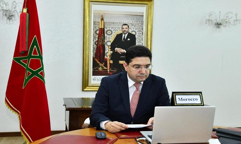 بوريطة يتباحث مع الأمين العام للأمم المتحدة عبر تقنية المناظرة المرئية