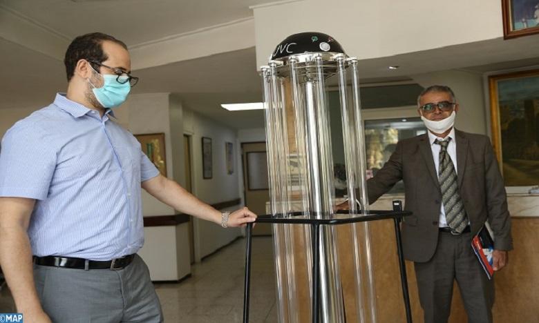 فاس: مقاولة تصمم آليات للتعقيم باستخدام الأشعة ما فوق البنفسجية