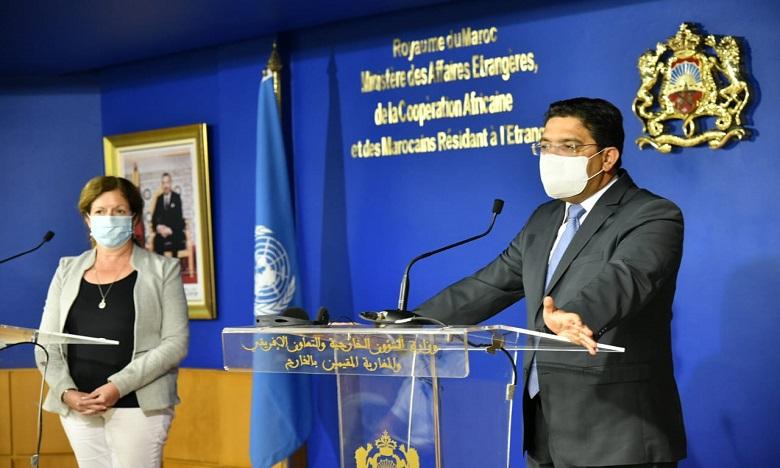 ستيفاني وليامز تؤكد دعمها للجهود المبذولة في إطار محادثات بوزنيقة لحل الأزمة في ليبيا