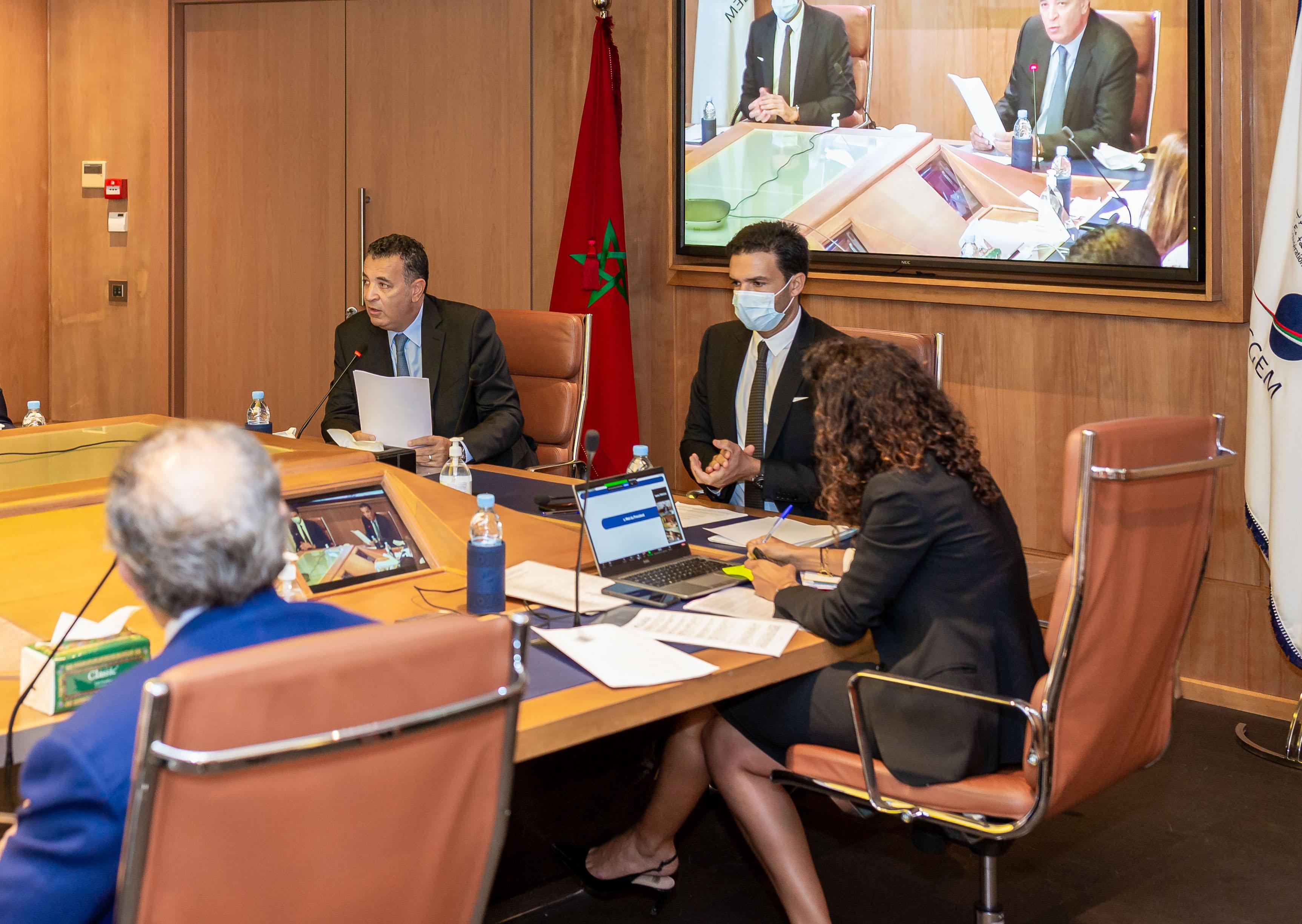 الاتحاد العام لمقاولات المغرب يعقد مجلس إدارته
