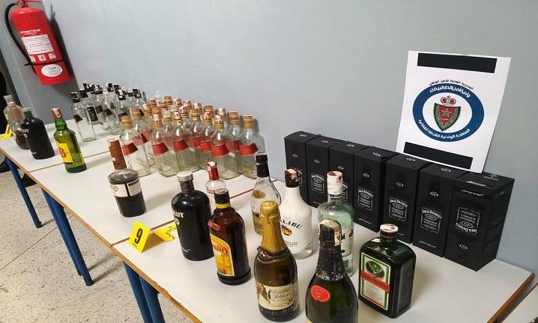 حجز أزيد من 5000 قنينة للمشروبات الكحولية في عملية نوعية بفاس