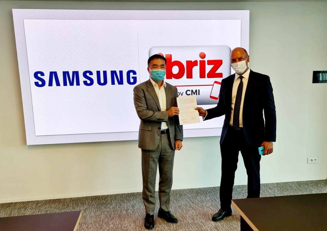 الأداء المحمول Ibriz by CMI أصبح مدمجا عبر الهواتف الذكية سامسونغ