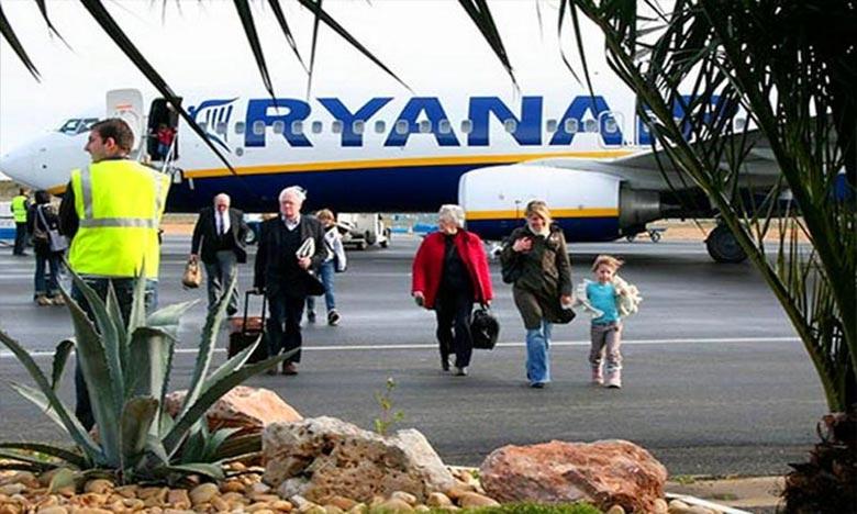 """""""ريان إير"""" تعلن عن استئناف أنشطتها في المغرب هذا الشتاء"""