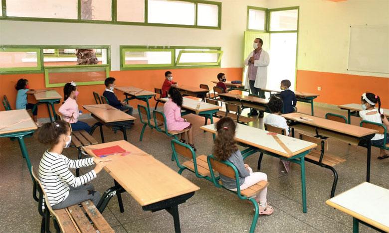 اعتماد التعليم الحضوري بجميع الأسلاك التعليمية ابتداء من الاثنين بعمالات الدارالبيضاء