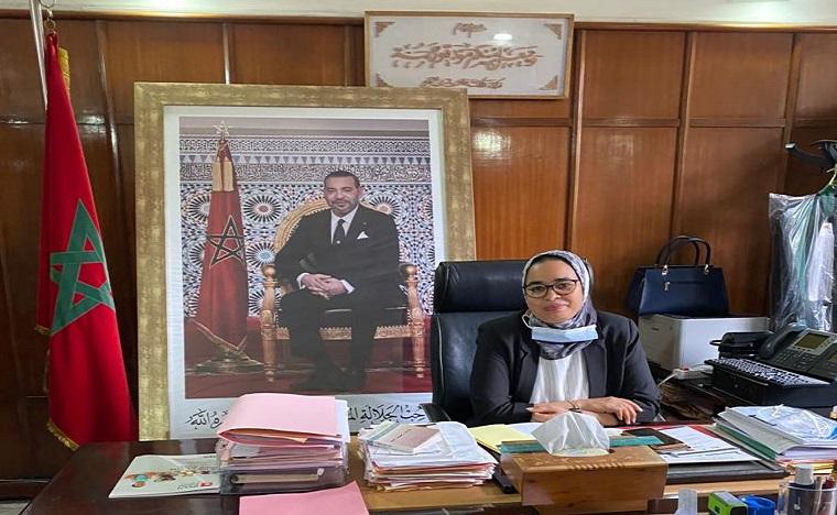 عائشة أيت الحاج تقدم مقترحات الجمعية المغربية للنساء القاضيات حول النهوض بقطاع العدالة للنموذج التنموي