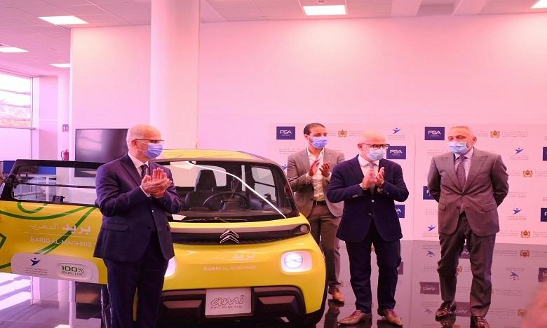 """225 سيارة كهربائية لتوزيع البريد والطرود """" Citroën Ami – 100% ëlectric"""""""
