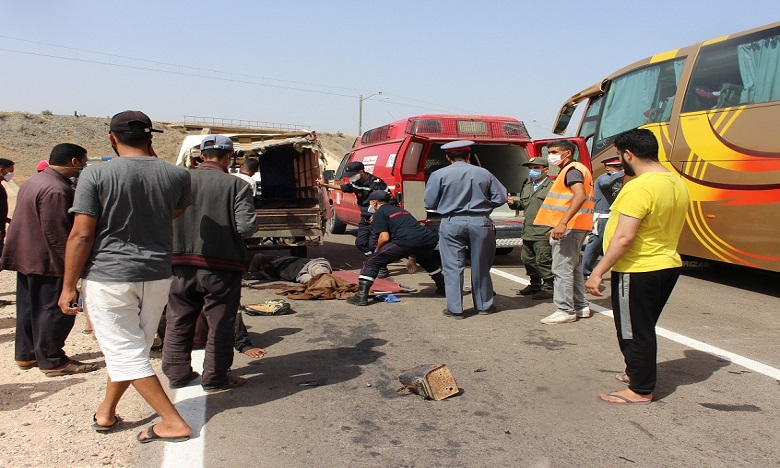 17  قتيلا و1810 جرحى حصيلة حوادث السير بالمناطق الحضرية
