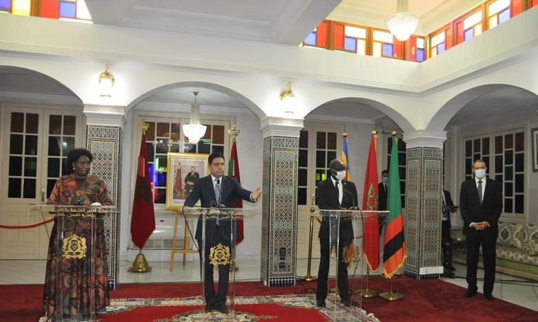 تواصل افتتاح القنصليات بالعيون والداخلة .. ثمرة من ثمار السياسة الإفريقية السديدة لصاحب الجلالة الملك محمد السادس
