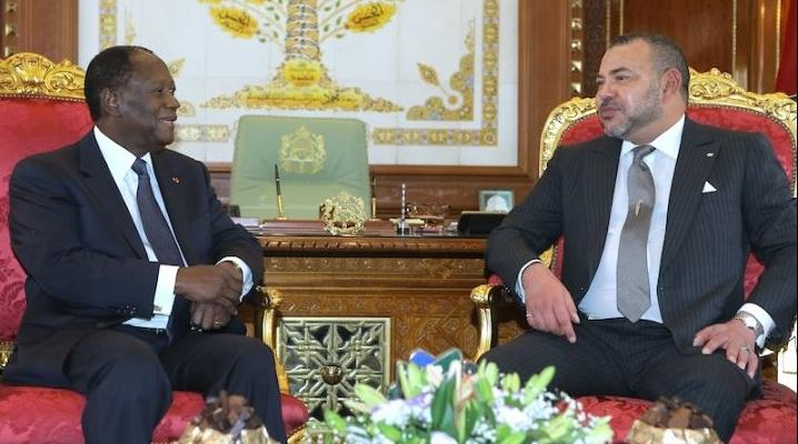 الكركرات : الرئيس الإيفواري يؤكد لجلالة الملك تضامن بلاده ودعمها الكامل لمبادرات جلالته