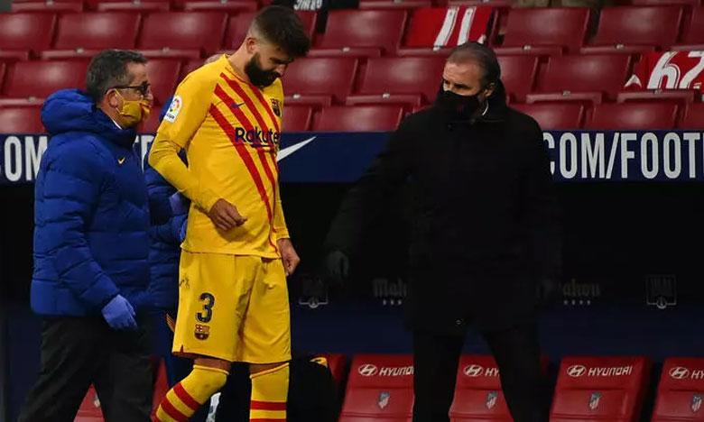 أزمة في دفاع برشلونة مع إصابة بيكيه وروبرتو