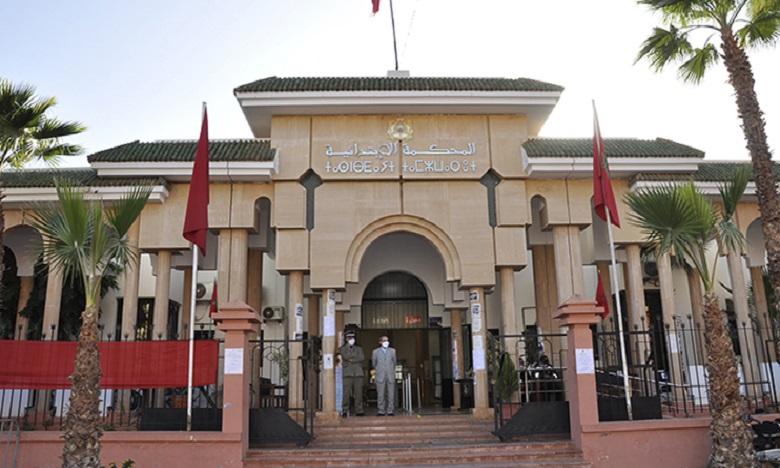 وزير العدل يقوم بزيارة تفقدية للمحكمة الابتدائية لسوق السبت أولاد النمة