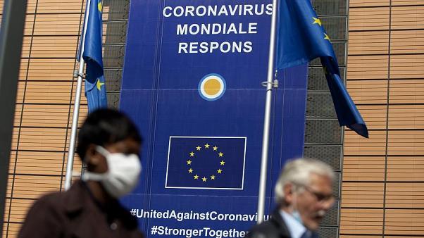 """الاتحاد الأوروبي يعقد اجتماعا افتراضيا للبحث في تهديد النسخ المتحورة من """"كوفيد-19"""""""