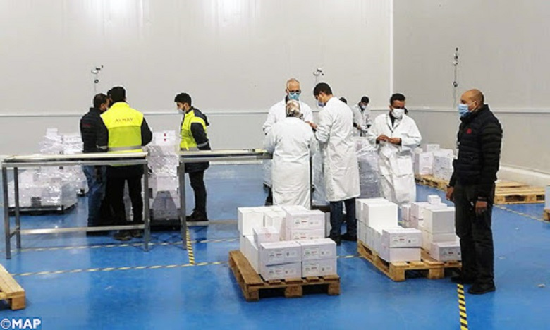الدار البيضاء: بدء توزيع اللقاح ضد كوفيد-19 على الجهات