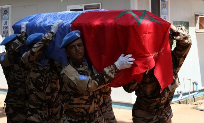 الأمم المتحدة تدين مقتل عنصرين من القبعات الزرق أحدهما مغربي في جمهورية إفريقيا الوسطى