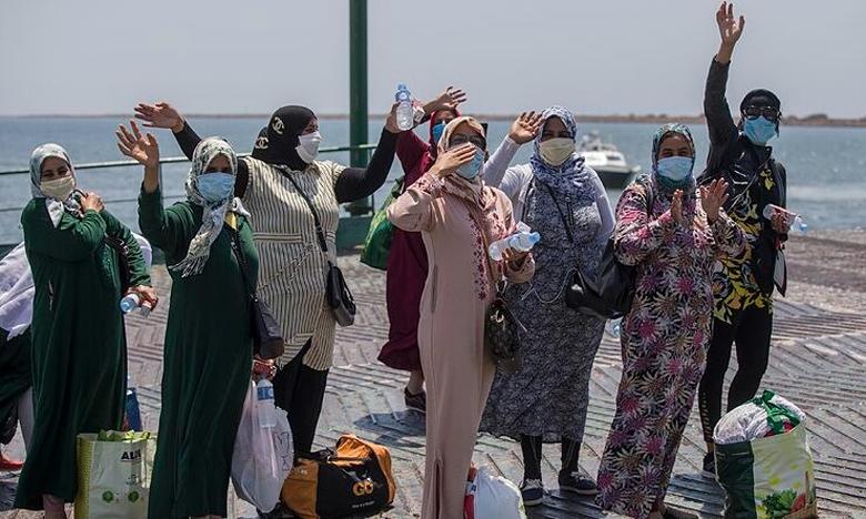 إسبانيا تستقبل 1470 عاملة مغربية خلال الأسبوع الجاري