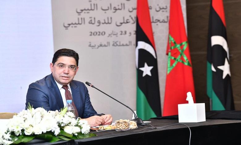 بوريطة: المغرب منخرط بتعليمات ملكية في مواكبة الفرقاء الليبيين حتى تنتهي الأزمة الليبية