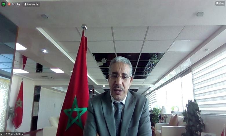 رباح يبرز بأبو ظبي إجراءات المغرب العملية لتطوير استعمالات الهيدروجين الأخضر