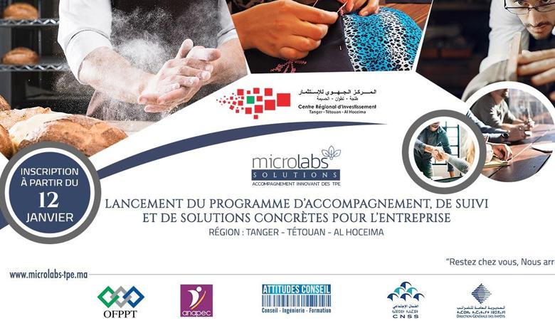 المركز الجهوي للاستثمار لجهة طنجة تطوان الحسيمة يطلق برنامج مواكبة الشباب حاملي المشاريع