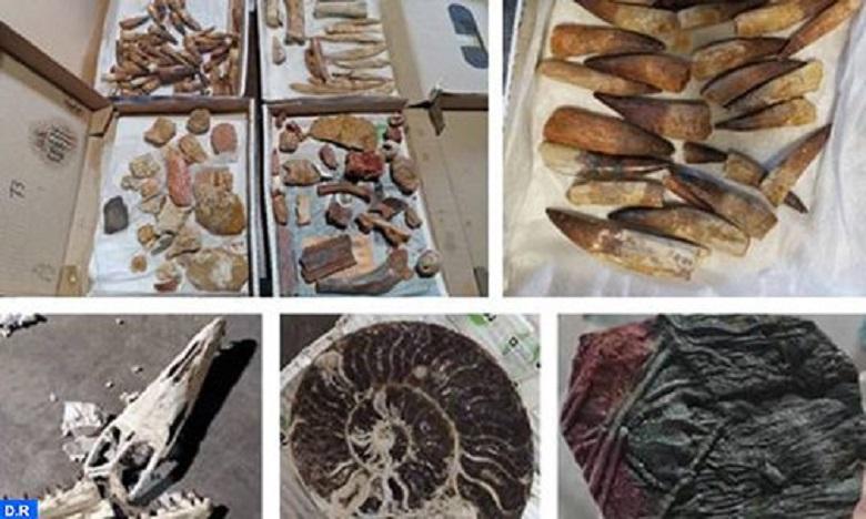 الدار البيضاء-سطات: إحباط محاولة تصدير غير مشروع لحوالي 200 كلغ من القطع الجيولوجية