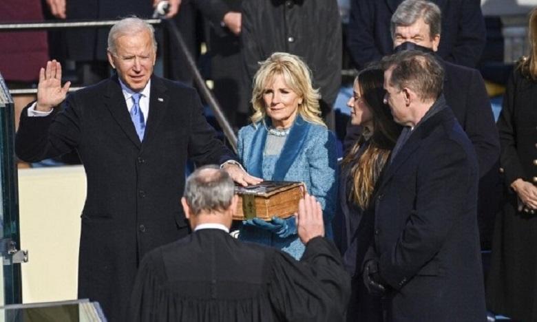 جو بايدن يصبح الرئيس السادس والأربعين للولايات المتحدة