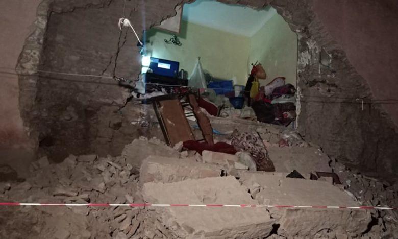 انهيار منزل يرعب سكان حي الملاح ويكشف حجم تحديات المسؤولين لإيجاد حلول معقولة للمنازل الآيلة للسقوط بمراكش