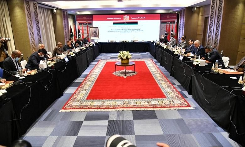 بوزنيقة: الاجتماع التشاوي بين مجلس النواب الليبي والمجلس الأعلى للدولة الليبي