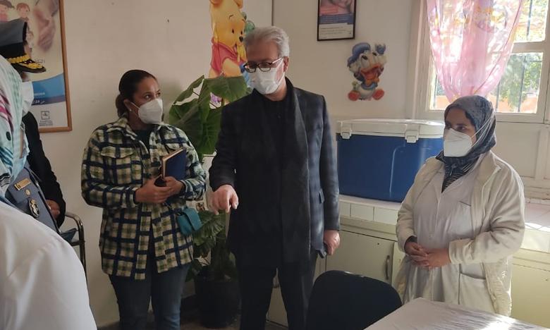 استعدادات مكثفة للتهيئ لعملية التلقيح وتعبئة جماعية للأطر الطبية لضمان نجاح العملية  في أفق التحصين الجماعي ضد كوفيد 19 بعمالة مراكش