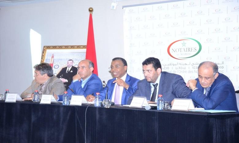 المجلس الوطني لهيئة الموثقين ينظم زيارة لمعبر الكركرات