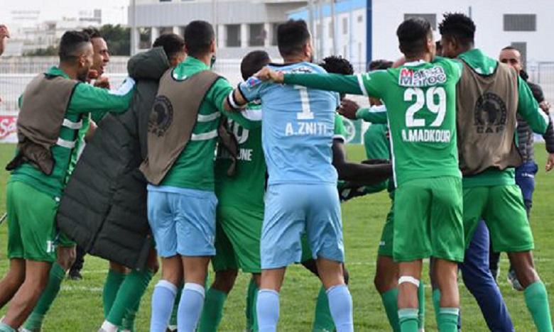 """البطولة الوطنية الاحترافية """"إنوي"""" فريق الرجاء الرياضي يفوز على ضيفه إتحاد طنجة"""