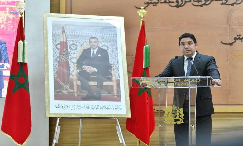 بوريطة: افتتاح الأردن قنصلية عامة لها بالعيون تكريس لتضامنها الراسخ مع المغرب