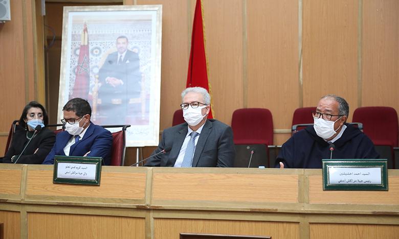 مجلس جهة مراكش آسفي يصادق على مشاريع ذات طابع تنموي خلال دورة مارس العادية