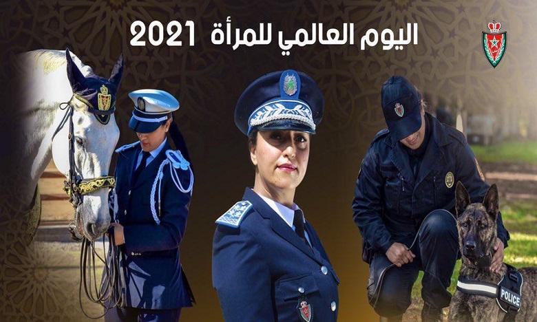 الأمن الوطني يكرم النساء الشرطيات في عيد المرأة العالمي