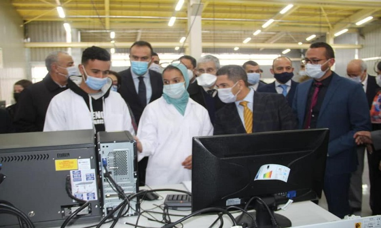 ورزازات: افتتاح معهد التكوين في مهن الطاقات المتجددة والنجاعة الطاقية