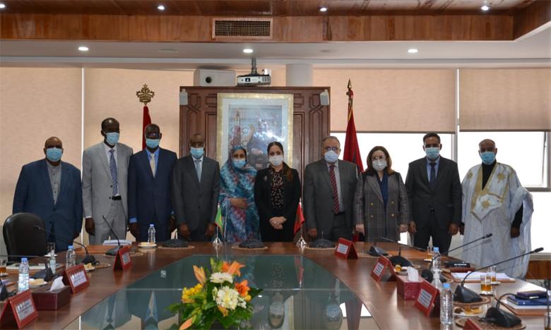 نزهة بوشارب : علاقات الشراكة والتعاون بين المغرب وموريتانيا متجددة ونموذجية