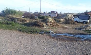 انتشار النفايات والأزبال يؤرق بال سكان دوار اشعيب بمقاطعة المنارة بمراكش