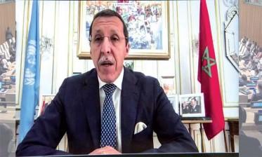 """السفير هلال يندد بمجلس الأمن بازدواجية خطاب الجزائر و""""البوليساريو"""" بشأن موضوع المبعوث الشخصي للصحراء المغربية"""