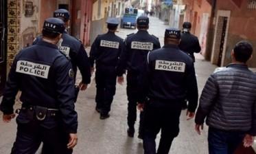 الجديدة: متابعة 10 شباب قاموا بإضرام النار ليلا ورشق عناصر الأمن بالحجارة